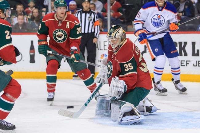 Edmonton Oilers vs. Minnesota Wild - 1/27/15 NHL Pick, Odds, and Prediction