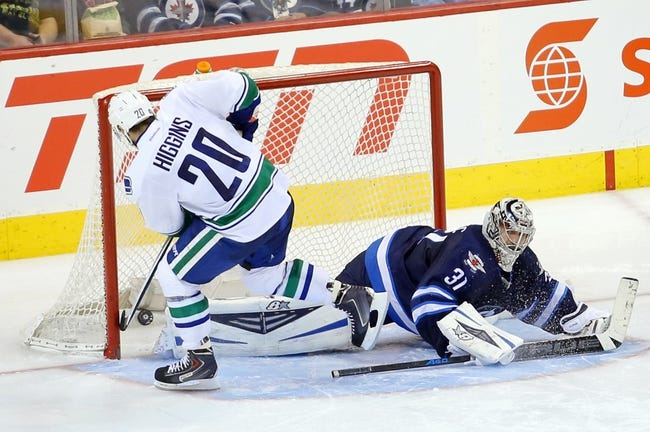 Vancouver Canucks vs. Winnipeg Jets - 2/3/15 NHL Pick, Odds, and Prediction