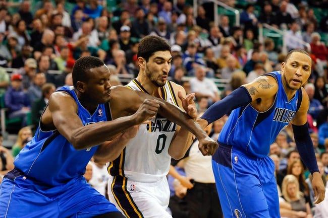 Utah Jazz vs. Dallas Mavericks - 4/8/14