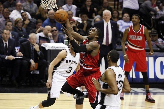 Portland Trail Blazers at San Antonio Spurs NBA Pick, Odds, Prediction - 5/6/14 Game One