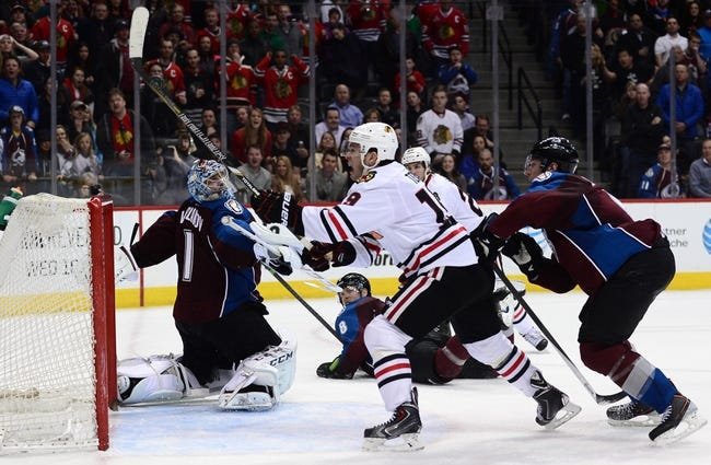 Colorado Avalanche vs. Chicago Blackhawks - 11/26/14 NHL Pick, Odds, and Prediction