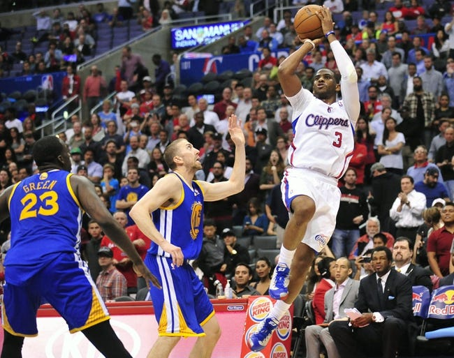Golden State Warriors at Los Angeles Clippers - 4/19/14 Game One