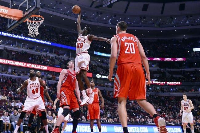 Bulls vs. Rockets - 1/5/15 NBA Pick, Odds, and Prediction