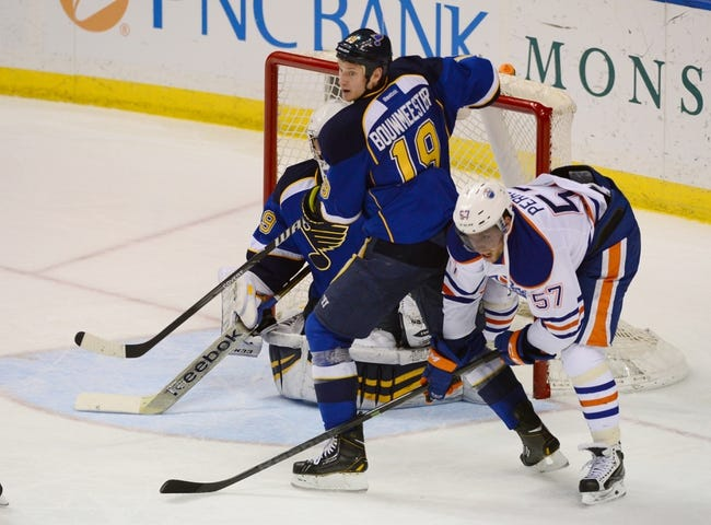 St. Louis Blues vs. Edmonton Oilers - 11/28/14 NHL Pick, Odds, and Prediction