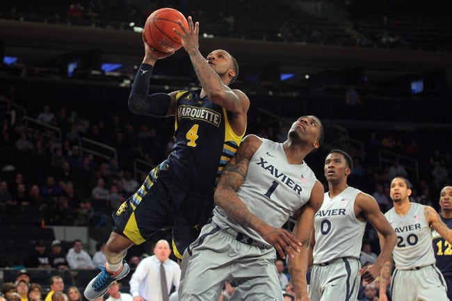 Xavier vs. Marquette - 1/17/15 College Basketball Pick, Odds, and Prediction