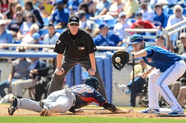 Toronto Blue Jays vs. Boston Red Sox MLB Pick, Odds, Prediction 4/25/14