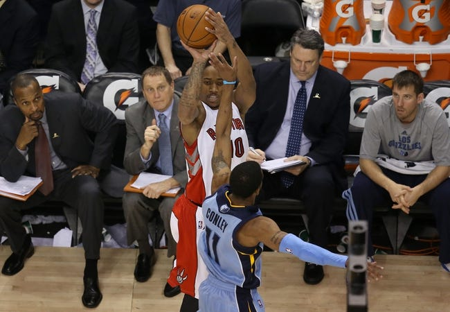 Toronto Raptors vs. Memphis Grizzlies - 11/19/14 NBA Pick, Odds, and Prediction