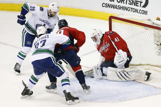 Canucks vs. Capitals - 10/26/14 NHL Pick, Odds, Prediction