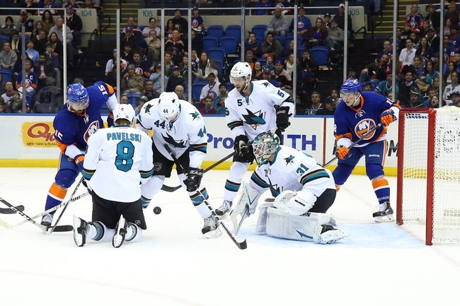 New York Islanders vs. San Jose Sharks - 10/16/14 NHL Pick, Odds, Prediction