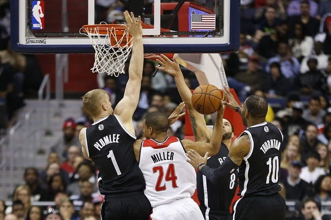 Wizards vs. Nets - 1/16/15 NBA Pick, Odds, and Prediction