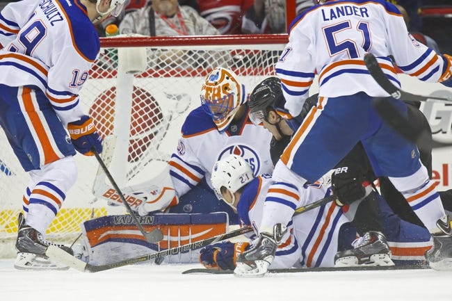 Edmonton Oilers vs. Carolina Hurricanes - 10/24/14