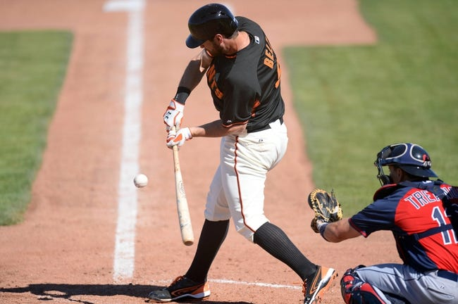 San Francisco Giants vs. Cleveland Indians Pick-Odds-Prediction - 4/27/14
