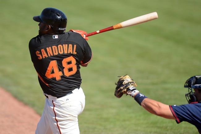 San Francisco Giants vs. Cleveland Indians MLB Pick, Odds, Prediction 4/25/14
