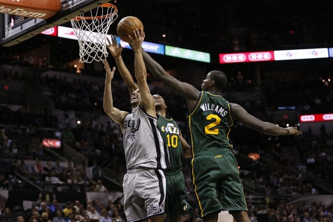 Jazz vs. Spurs - 12/9/14 NBA Pick, Odds, and Prediction