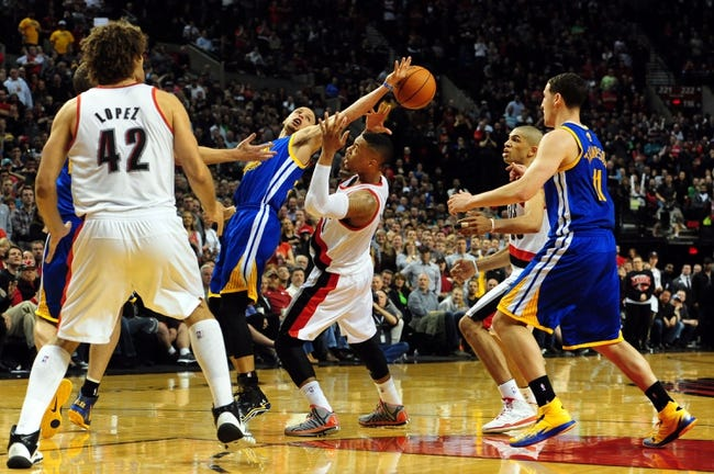 Portland Trail Blazers vs. Golden State Warriors - 4/13/14