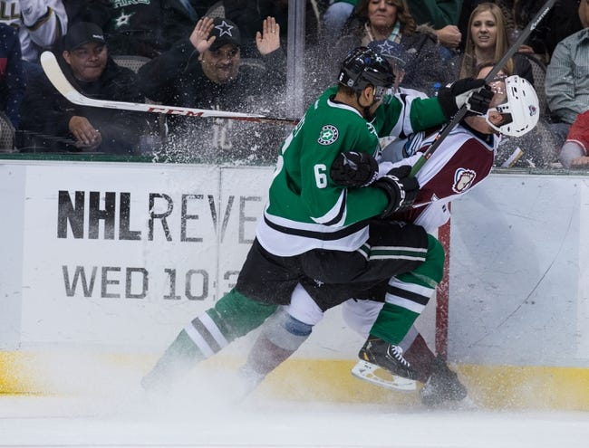 NHL | Dallas Stars (18-15-7) at Colorado Avalanche (17-16-8)