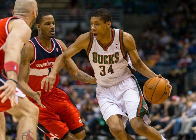 Washington Wizards vs. Milwaukee Bucks - 4/12/14