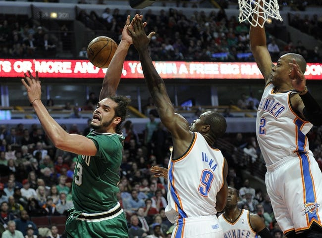 Bulls vs. Thunder - 3/5/15 NBA Pick, Odds, and Prediction