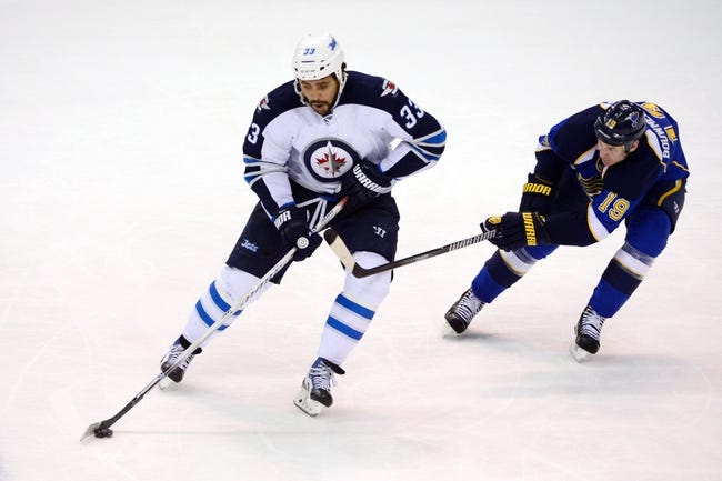 Winnipeg Jets vs. St. Louis Blues - 11/23/14 NHL Pick, Odds, and Prediction