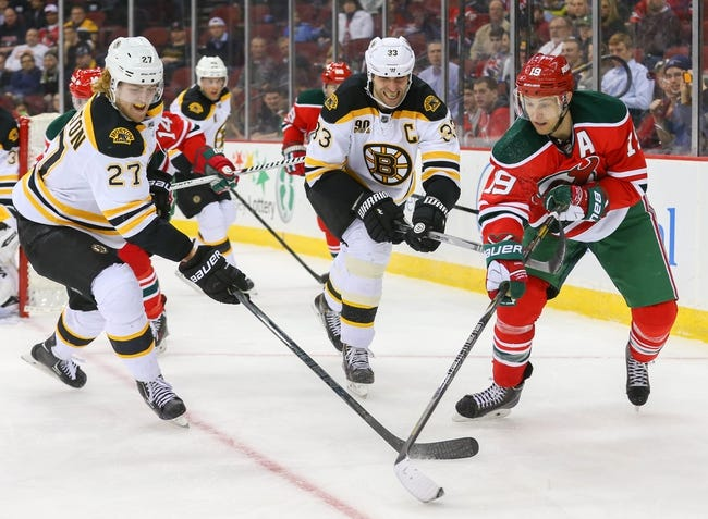 New Jersey Devils vs. Boston Bruins - 4/13/14
