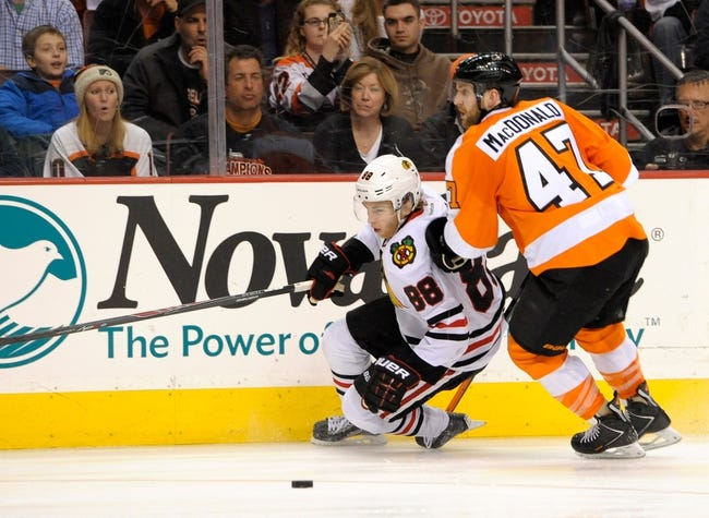 Chicago Blackhawks vs. Philadelphia Flyers Pick-Odds-Prediction - 10/21/14