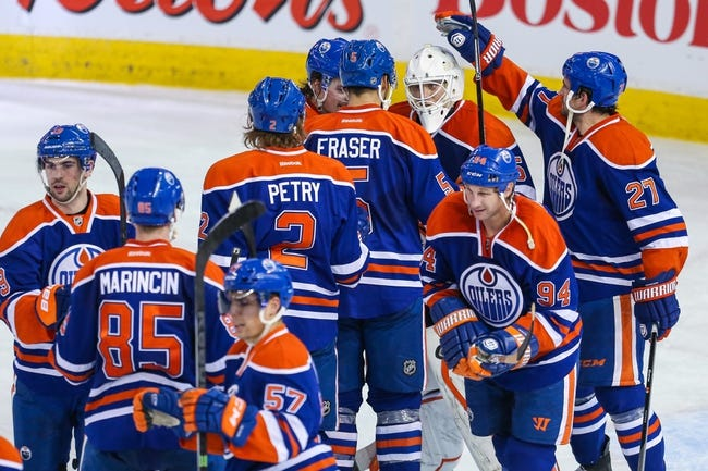 Edmonton Oilers vs. Nashville Predators - 10/29/14 NHL Pick, Odds, and Prediction