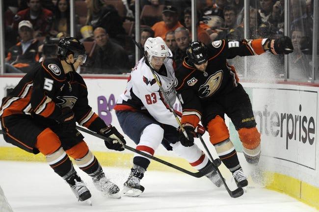 Washington Capitals vs. Anaheim Ducks - 2/6/15 NHL Pick, Odds, and Prediction