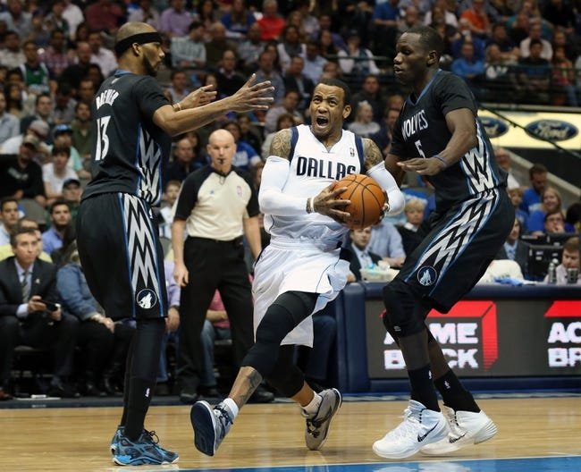 Mavericks vs. Timberwolves - 11/15/14 NBA Pick, Odds, and Prediction