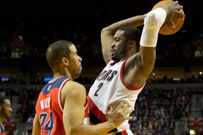Portland Trail Blazers vs. Washington Wizards - 1/24/15 NBA Pick, Odds, and Prediction