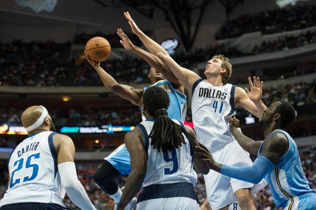 Nuggets vs. Mavericks - 1/14/15 NBA Pick, Odds, and Prediction