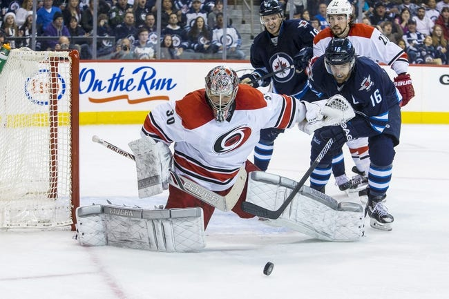 Winnipeg Jets vs. Carolina Hurricanes - 10/21/14