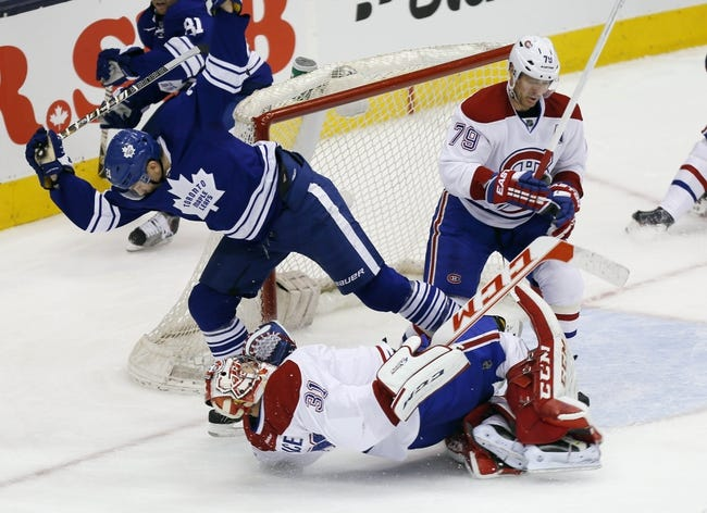 Toronto Maple Leafs vs. Montreal Canadiens - 10/8/14