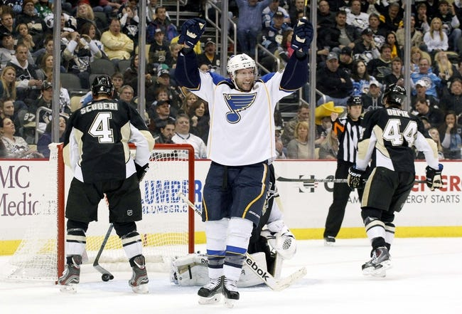 NHL | Pittsburgh Penguins (32-17-9) at St. Louis Blues (37-16-4)