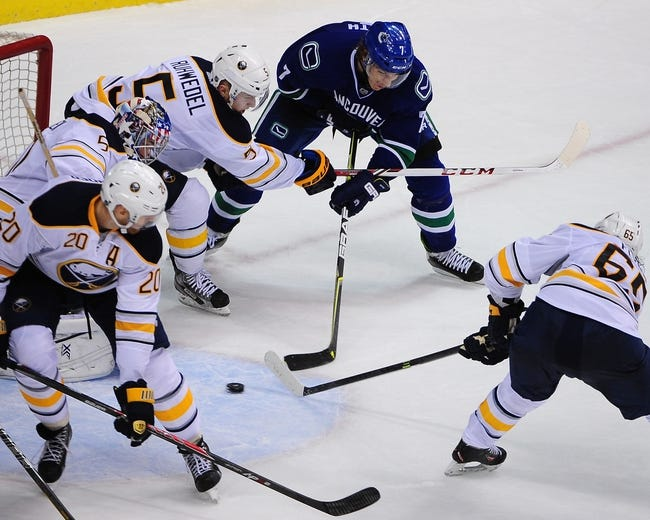 Vancouver Canucks vs. Buffalo Sabres 1/30/15 -  NHL Pick, Odds, and Prediction