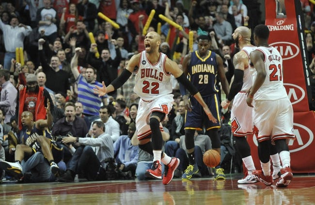 Bulls vs. Pacers - 11/15/14 NBA Pick, Odds, and Prediction