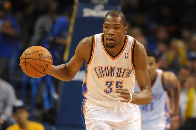 Oklahoma City Thunder vs. San Antonio Spurs - 4/3/14