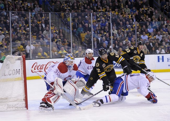 Montreal Canadiens at Boston Bruins Pick-Odds-Prediction - 5/1/14
