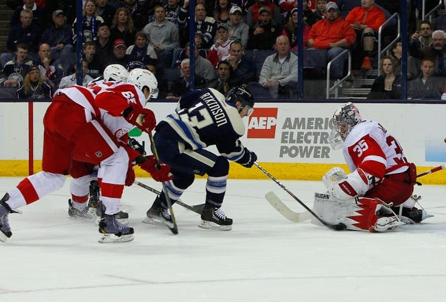 Blue Jackets vs. Red Wings - 11/18/14 NHL Pick, Odds, and Prediction