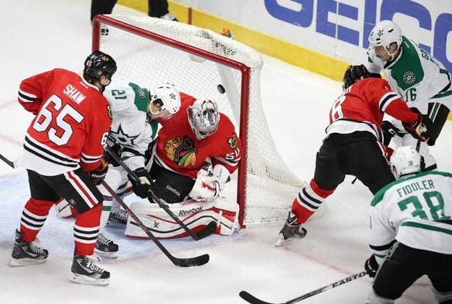 Dallas Stars vs. Chicago Blackhawks - 10/9/14