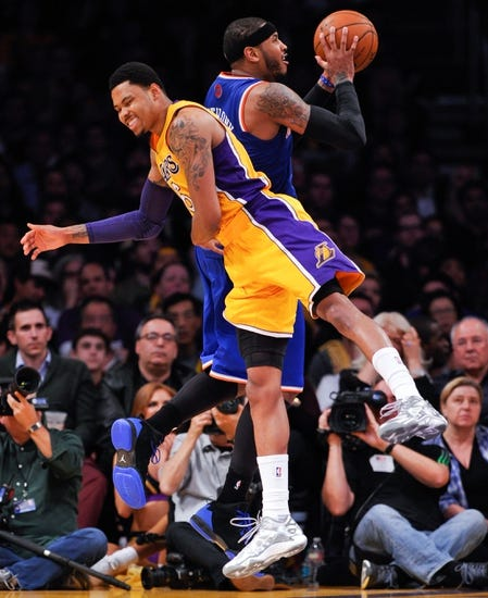New York Knicks vs. Los Angeles Lakers - 2/1/15 NBA Pick, Odds, and Prediction