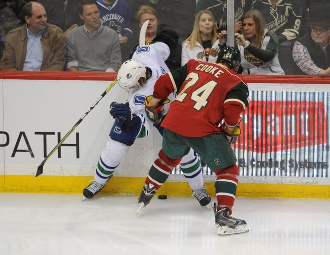 Vancouver Canucks vs. Minnesota Wild - 2/1/15 NHL Pick, Odds, and Prediction
