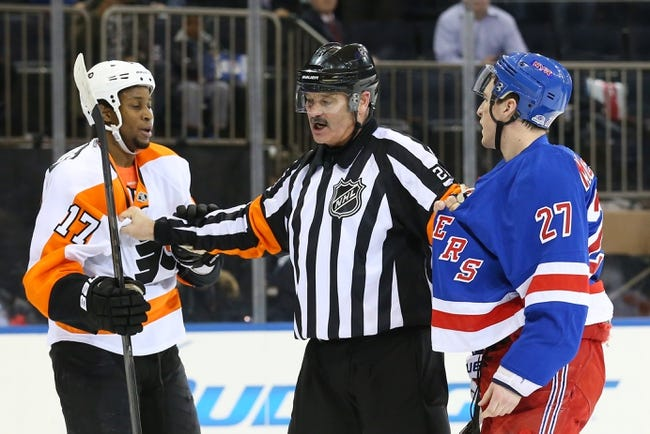 New York Rangers vs. Philadelphia Flyers - 4/17/14