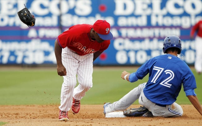 Philadelphia Phillies vs. Toronto Blue Jays MLB Pick, Odds, Prediction - 5/5/14