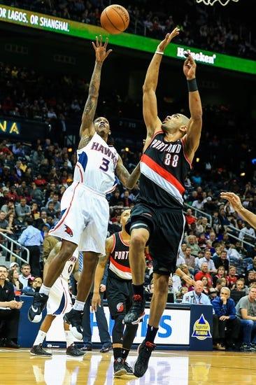 Portland Trail Blazers vs. Atlanta Hawks - 1/3/15 NBA Pick, Odds, and Prediction