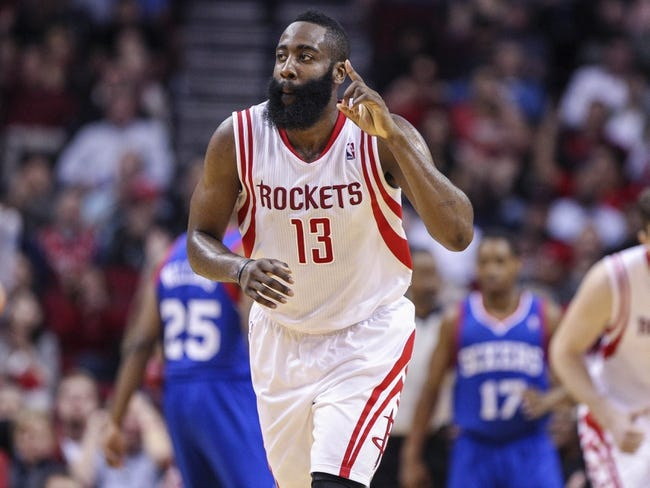 Philadelphia 76ers vs. Houston Rockets - 11/3/14 NBA Pick, Odds, and Prediction