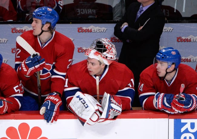 Columbus Blue Jackets vs. Montreal Canadiens - 1/14/15 NHL Pick, Odds, and Prediction