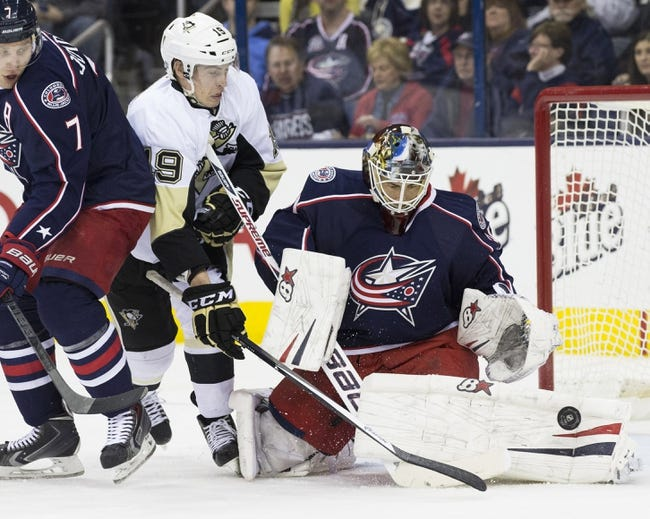 Columbus Blue Jackets at Pittsburgh Penguins - 4/16/14