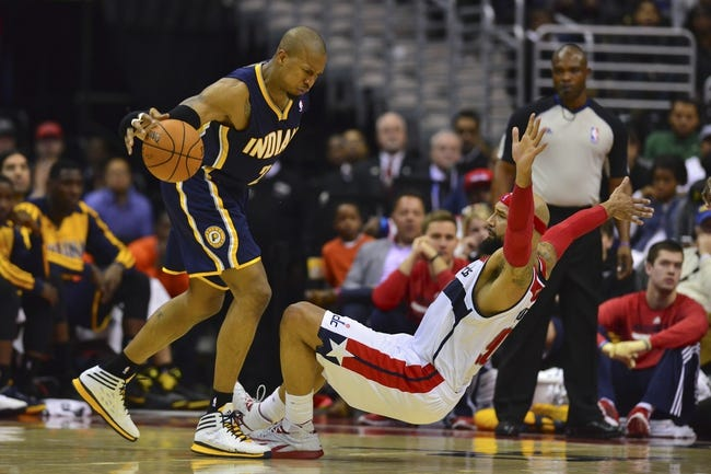 Washington Wizards at Indiana Pacers NBA Pick, Odds, Prediction - 5/5/14 Game One