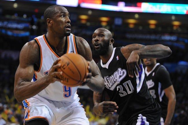 Oklahoma City Thunder at Sacramento Kings - 4/8/14