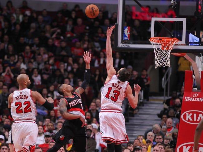 Trail Blazers vs. Bulls - 11/21/14 NBA Pick, Odds, and Prediction